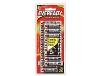 Briscoes NZ Eveready Super Heavy Duty AA 20 Pack