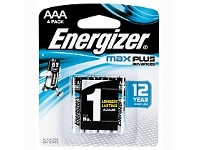 Briscoes NZ Energizer Max Plus AAA 4 Pack