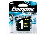 Briscoes NZ Energizer Max Plus AA 4 Pack