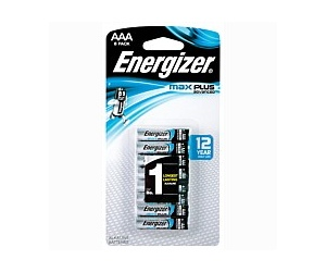 Energizer Max Plus AA 8 Pack