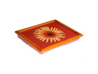 Briscoes NZ Tablefair Flower Padded Serving Tray