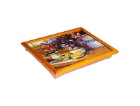 Briscoes NZ Tablefair Padded Serving Tray with Bread Lemons Design