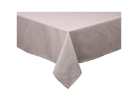 Briscoes NZ Just Home Cuisine Tablecloth Taupe 130x180cm