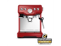 Briscoes NZ Breville BES840CRN The Infuser Red Coffee Machine