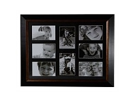 Briscoes NZ Rembrandt Multi Photo Frame with 8 Opening 16x20cm
