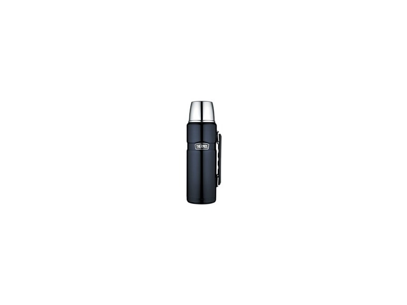 Thermos Flask King 1.2Lt Black