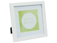 Briscoes NZ UR1 Gallery Photo Frame White 7x7 with 5x5 Opening