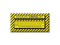Briscoes NZ Bloomsberry Milk Chocolate Survival Kit Yellow 100g