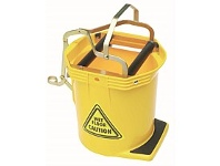 Briscoes NZ Raven Roller Wringer Bucket Yellow 16Litre