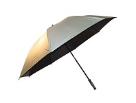 Briscoes NZ Hurricane Vented Golf Umbrella Silver