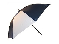 Briscoes NZ Hurricane Vented Golf Umbrella Navy & White