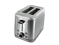 Briscoes NZ Brabantia BBEK1021 2Slice Stainless Steel Toaster