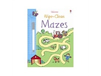 Briscoes NZ Usborne Wipe Clean Mazes Book