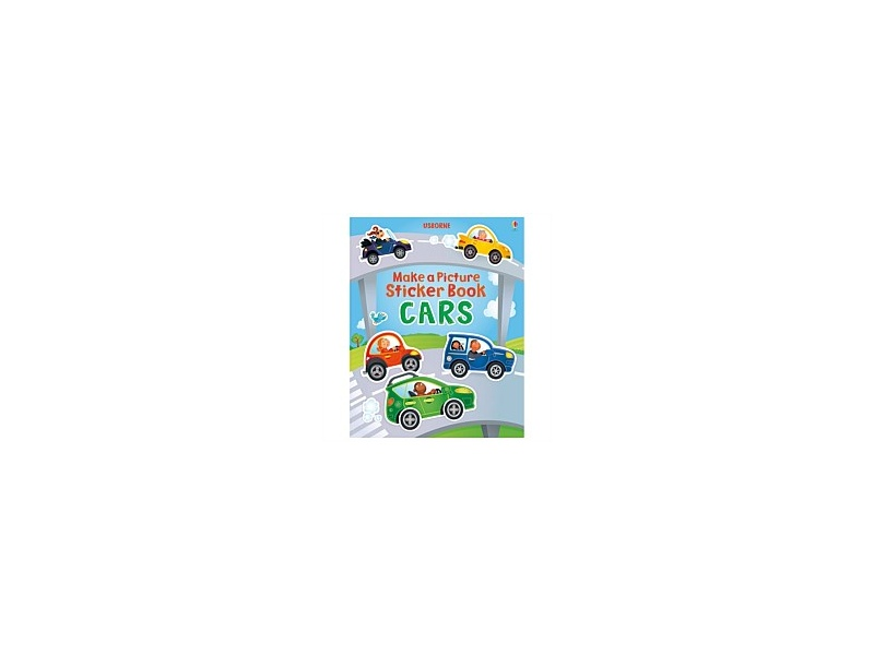 Usborne Make a Picture Sticker Book Cars