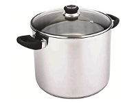 Briscoes NZ Hampton & Mason Impact Pro Stockpot with lid 26 x 22cm