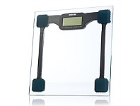 Briscoes NZ EKS Glass Electronic Bathroom scale