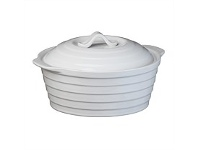Briscoes NZ Simon Gault Casserole Round With Lid 1.35 Litre 22cm