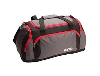 Briscoes NZ Trail Ohio Grip Bag Grey Black & Red