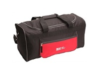 Briscoes NZ Trail Haxtun Grip Bag Black & Red