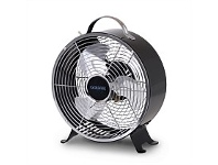 Briscoes NZ Goldair GCDF140B Venti Retro Cooling Fan Black