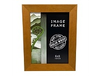 Briscoes NZ Image Angled Photo Frame Honey Stain 6x8 Inch