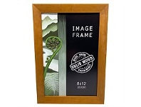 Briscoes NZ Image Angled Photo Frame Honey Stain 8x12 Inch