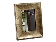 Briscoes NZ Image Photo Frame Rustic Gold 6x8 Inch