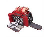 Briscoes NZ Tablefair Picnic Cooler Bag for 4 people Red