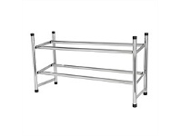 Briscoes NZ Madison House Expandable Chrome Shoe Rack