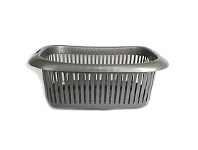 Briscoes NZ 4Home Laundry Basket Rossini Titanium
