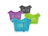 Briscoes NZ Effects Peg Basket Rectangular Assorted Colours