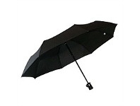 Briscoes NZ Peros Dew Drop Umbrella Black