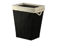 Briscoes NZ Easi Laundry Hamper Black Rectangle
