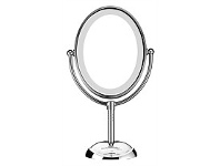 Briscoes NZ Lighted Mirror Portable LED Chrome