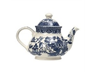 Briscoes NZ Churchill Blue Willow Teapot