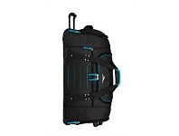 Briscoes NZ High Sierra Ultimate Access Wheeled Duffle Black & Blue
