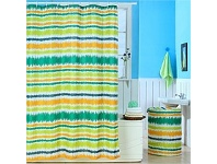 Briscoes NZ Cloud 9 Shower Curtain Shock Wave 180cm x 180cm