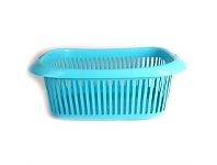 Briscoes NZ 4Home Rossini Laundry Basket Light Blue