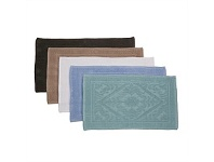 Briscoes NZ Willow Bay Lorenzo Jacquard Bathmat Assorted
