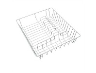 Briscoes NZ White Poly Coated Wire Dish Drainer