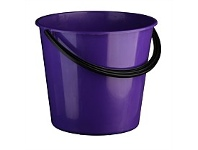 Briscoes NZ Bucket Purple With Black Handle 9.6 Litre