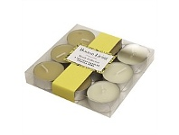 Briscoes NZ Set of 9 Scented Tealights Taupe Vanilla Bean