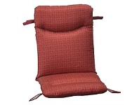 Briscoes NZ Outdoor Creations Universal Chair Cushion Red