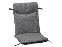Briscoes NZ Outdoor Creations Universal Chair Cushion Charcoal Square