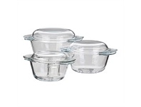 Briscoes NZ Simon Gault Casseroles 0.75L 1L & 1.4L Set of 3