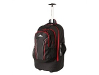 Briscoes NZ High Sierra 56cm Wheeled Duffle Black
