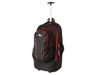 Briscoes NZ High Sierra 76cm Wheeled Duffle Black