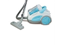 Briscoes NZ Zip Fusion Zip 374 Vacuum Cleaner White/Blue 2000W Bagless