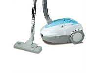 Briscoes NZ Zip Classic Zip465 Vacuum Cleaner White/Blue 2000W Bag