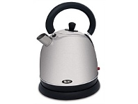 Briscoes NZ Zip 417 Fusion 1.8 Litre Brushed Satin Stainless Steel Kettle